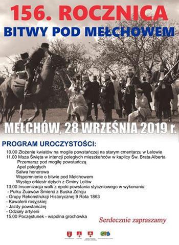 56. Rocznica Bitwy pod Mełchowem