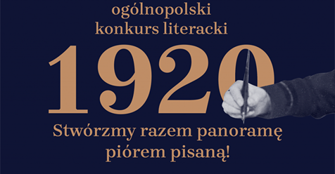 1920 – OGÓLNOPOLSKI KONKURS LITERACKI  W SETNĄ ROCZNICĘ BITWY WARSZAWSKIEJ