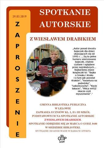 Read more about the article SPOTKANIE AUTORSKIE